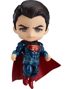 The showdown of the century in Nendoroid size! From the popular movie 'Batman v Superman: Dawn of Justice' comes a Nendoroid of Superman! The Nendoroid is a part of the fully articulated 'Edition' series of Nendoroids which allows for all sort. Batman Vs Superman, Superman Dawn Of Justice, Chibi Marvel, Marvel Art, Marvel Heroes, Wallpaper Do Superman, Avengers Wallpaper, Anime Figures, Father's Day