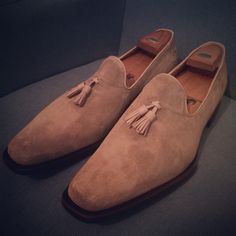 New shoes for the summer. Beautiful pair of Oliver Sweeney loafers.