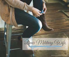 Dear Military Wife,