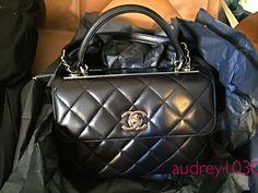 Chanel trendy cc bag Christmas gift from husband <3