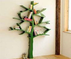 Have a tree of knowledge - literally - with this minimalistic tree bookshelf. With half a dozen uniquely shaped branches, you'll have ample room to store and...