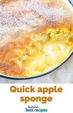 Quick Apple Dessert, Apple Dessert Recipes, Delicious Desserts, Yummy Food, Healthy Apple Desserts, Apple Deserts, Quick Easy Desserts, Healthy Snacks, Dinner Recipes