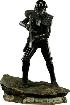 Star Wars Death Trooper Specialist Premium Format(TM) Figure | Sideshow Collectibles