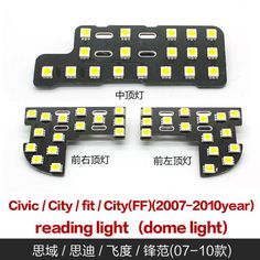 Cheap Reading Lights, Buy Directly from China Suppliers:This set of reading lamp containsthree lightsApplicable modelsSuitable for the Honda civic, cify, fit, city(FF)