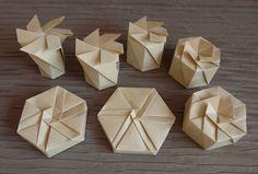 Nagano Tato Box - hexagonal variations | by Orihouse