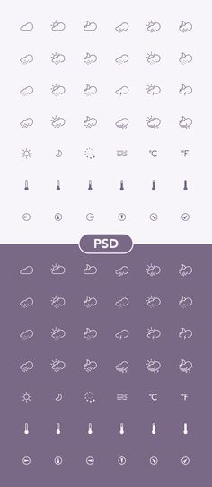 We have collected 30 amazing free weather icons you can use for whether mobile apps and widgets, articles and posts. Which one is your favorite set of weather icons? Flat Web Design, Design Ios, Icon Design, Graphic Design, Vector Design, Retro App, Icon Background, Simple Weather, Credit Card Icon