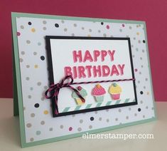 Image result for stampin up kids birthday cards