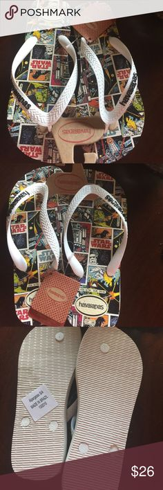 Authentic Havaianas unisex These havaianas are brand new and my price is firm. Havaianas Shoes Sandals