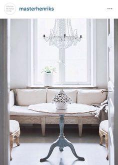 Swedish antique Banquette