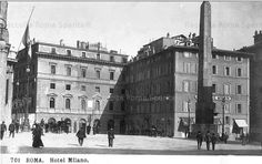 piazza Montecitorio inizi '900