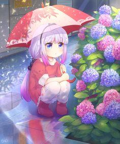 Anime, Art, Аниме, Kanna Kamui, Kobayashi san Chi no Maid Dragon Anime Neko, Manga Kawaii, Loli Kawaii, Kawaii Anime Girl, Anime Love, Fan Art Anime, Anime Girl Cute, Anime Art Girl, Anime Girls