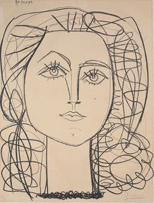 Ausstellung Graphiken von Pablo Picasso @ Stiftung Museum Kunstpalast, Düsseldorf, 28.03.2013 - 07.07.2013  Pablo Picasso (1881–1973)