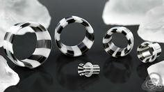 Drop Dangle Ear Plugs Tunnels Ear Gauges Stretchers Expander Piercing RASK
