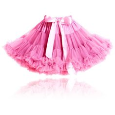 DOLLY by Le Petit Tom PINKEST PINK PRINCESS pettiskirt pinkest pink (1.730 CZK) ❤ liked on Polyvore featuring home and children's room