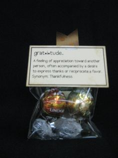 """Thank You Gift Idea: Gratitude definition """" a feeling of appreciation toward another person, often accompanied by a desire to express thanks or reciprocate a favor. Staff Gifts, Volunteer Gifts, Volunteer Appreciation, Teacher Appreciation Week, Appreciation Gifts, Teacher Gifts, Quirky Gifts, Cute Gifts, Pug"""