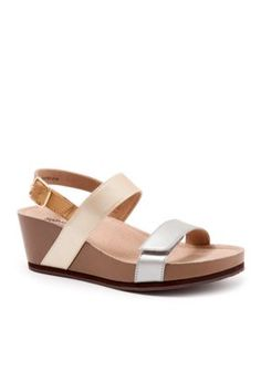 Softwalk Metallic Hart Sandal