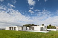House in Gandra is a minimalist residence located in Esposende, Portugal, designed by Raulino Silva Arquitecto