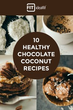 Sometimes you just really crave sweets. Try IdealFit's 10 protein packed chocolate coconut recipes that will satisfy your sweet tooth and still help you reach your fit goals. Get Ideal Lean Chocolate Coconut Protein and 5 other tasty flavors at idealfit.com.