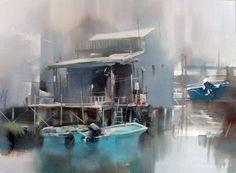 Liu Yi watercolor
