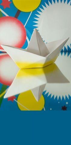 Lampe enfant veilleuse paper boat jaune l32cm goodnight light normal