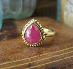 Alexis Dove, India Ruby Ring