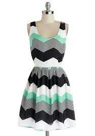 I like the mixed colors with the chevron pattern and the style seems easy to throw on Summer Outfits, Summer Dresses, Online Fashion Stores, Club Dresses, Affordable Fashion, Color Mixing, Chevron, Bodysuit, Two Piece Skirt Set
