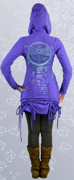This gorgeous purple bamboo hoodie is ethically made in Canada using sustainable organic fabric. Uniquely hand printed with original dragonfly art. Dragonfly Art, Cotton Jacket, Bustle, Hoodie Jacket, Organic Cotton, Bamboo, Canada, Comfy, Hoodies