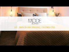 Letar du efter en sänggavel som passar just till din säng? Kanske har du inte hittat Dyi, Bed Pillows, Diy And Crafts, Pillow Cases, Bedroom, Home Decor, Youtube, Ideas, Fashion Styles