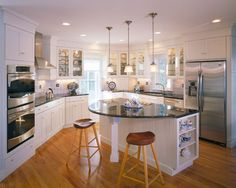 Rounded Countertops Design, Pictures, Remodel, Decor and Ideas - page 2