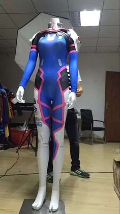 I finished this Overwatch D. Va Soldier 76 Cosplay Overwatch Costumes