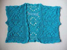 Coprispalle a maglia: foto e immagini - Coprispalle azzurro