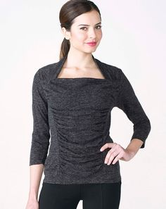 Marilyn Top - Ruby Ribbon Pair with Ponte pants & you've got a winning combination that is flying off the racks!