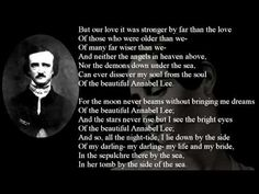 Annabel Lee -by Edgar Allan Poe Book Link:http://www.amazon.com/Learning-ebook/dp/B003HS4VR0/ref=sr_1_4_bnp_1_kin?s=books&ie=UTF8&qid=1379953627&sr=1-
