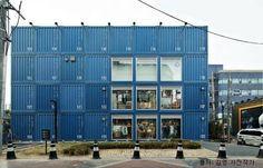 커먼그라운드 - Google 검색 Warehouse Office, Container Homes, Multi Story Building, Architecture, Business, Google, Outdoor Decor, Projects, Design