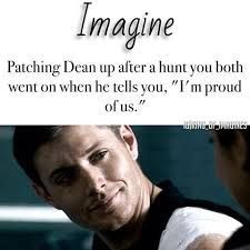 😭😭😭All these imagines are making me cry😹😭😭😭 Supernatural Bloopers, Supernatural Tumblr, Supernatural Tattoo, Supernatural Imagines, Supernatural Wallpaper, Jensen Ackles, Dean Winchester Imagines, Winchester Boys, Destiel