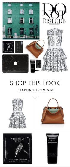 """Untitled #94"" by kallimanis ❤ liked on Polyvore featuring Alexander McQueen, Fendi, Anja, TokyoMilk, Givenchy and Floyd"