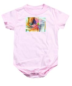 Baby Onesie - Abstract 9586
