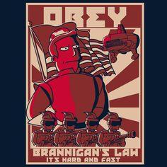 Obey Brannigan's Law