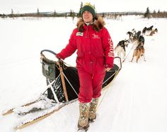 """Susan Butcher won the Iditarod four times. During her heyday, there was a tshirt that said """"Alaska: Where Men are Men and Women Win the Iditarod!"""""""