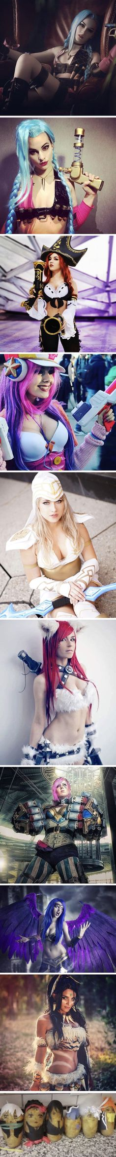 The best LOL girls cosplay ever!