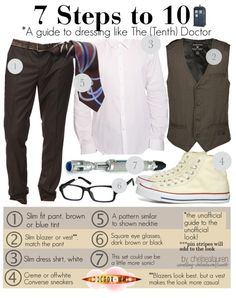 7 Steps to 10 (A Budget Friendly Guide) | Doctor Who   Only the Babygirl wants to be the Doctor at the Medieval Faire