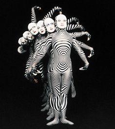 """Cirque Du Soleil """"O"""" - zebras"""