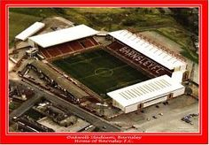 Oakwell Barnsley - First Visited 1994
