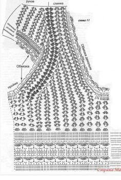 Fabulous Crochet a Little Black Crochet Dress Ideas. Georgeous Crochet a Little Black Crochet Dress Ideas. Tops A Crochet, Débardeurs Au Crochet, Pull Crochet, Gilet Crochet, Mode Crochet, Crochet Skirts, Crochet Diagram, Crochet Woman, Crochet Chart