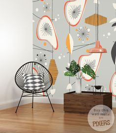 Wall Mural Abstraction by PIXERS <3 www.pixersize.com