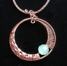 copper wire jewelry designs