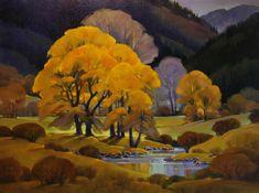 Mac Stevenson: Cottonwood by Wolf Creek