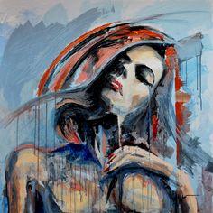painting by Tomasz Machoń 100x100