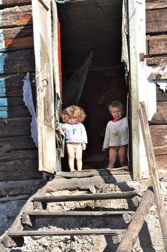 Kind zijn in arm Oekraïne