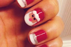 http://www.fashionbritish.com/snowflake-nail-art-for-christmas-2013.html | Flickr - Photo Sharing!